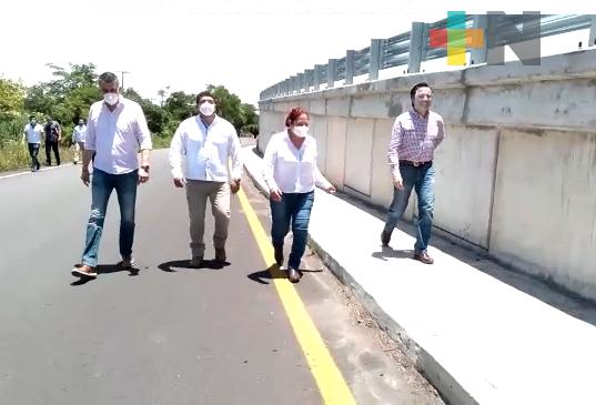 Gobernador Cuitláhuac García supervisó obra del paso a desnivel sobre carretera federal Córdoba-Veracruz