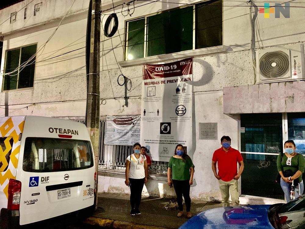 DIF de Minatitlán rescata a menor de edad que deambulaba por las calles