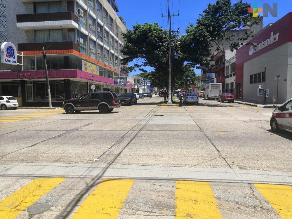 De nueva cuenta cerrarán calles del primer cuadro del centro de Coatzacoalcos