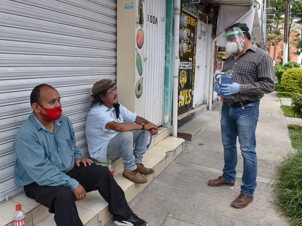Canaco Xalapa pide sancionar a quienes no usen cubrebocas