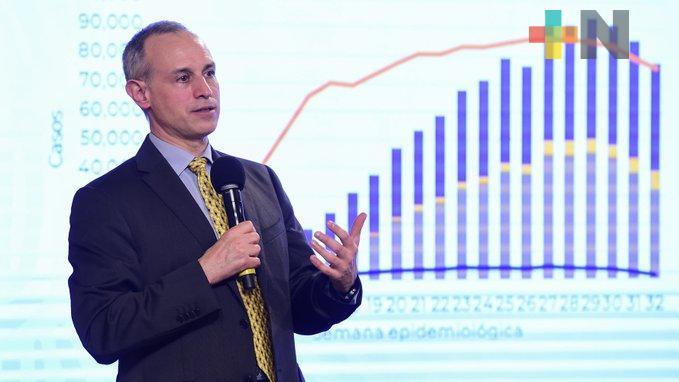 Nunca se ha reducido el número de pruebas de covid para bajar el número de casos: López-Gatell