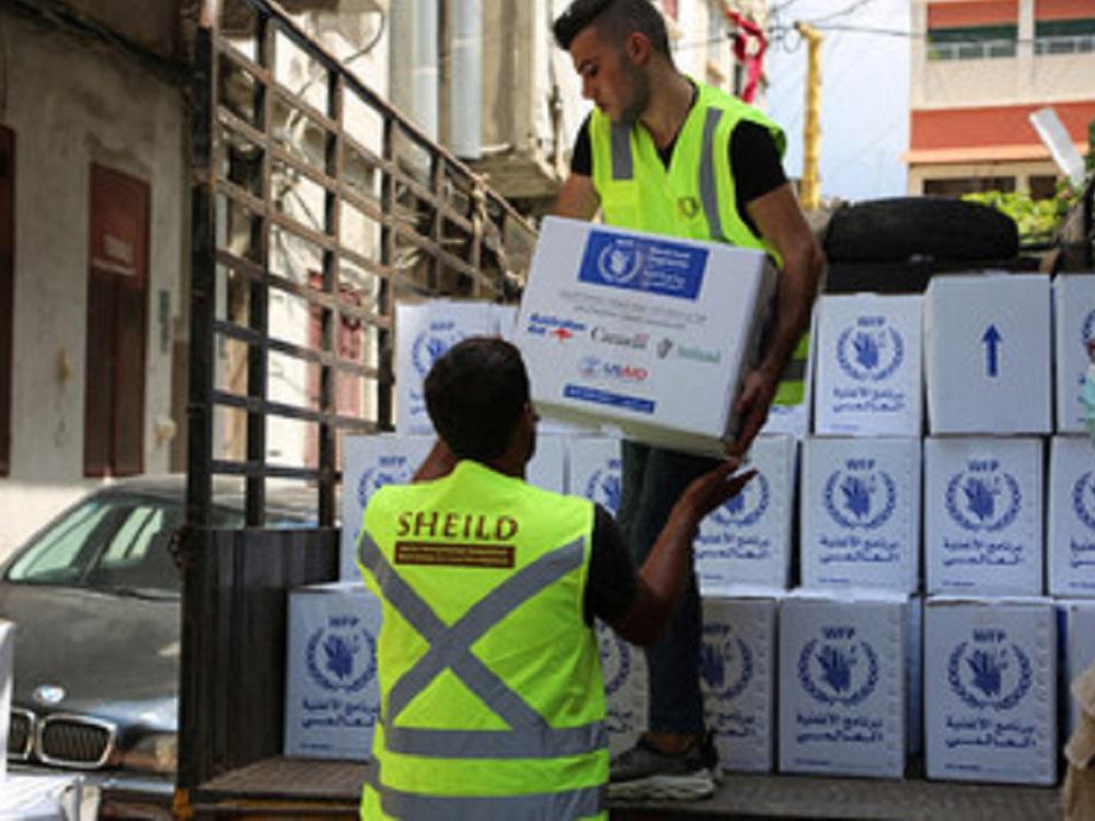 El Programa Mundial de Alimentos envía 17,000 toneladas de comida a Líbano