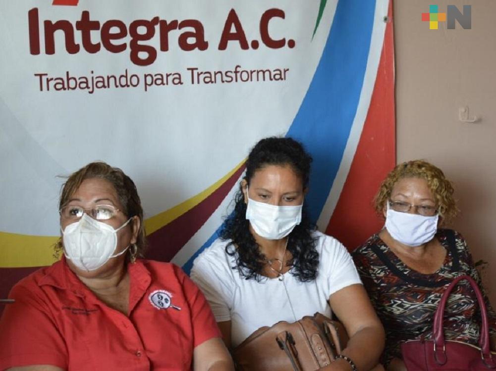 En Coatzacoalcos, Asociación «Integra» entrega a colectivos de personas desaparecidas 100 mil pesos
