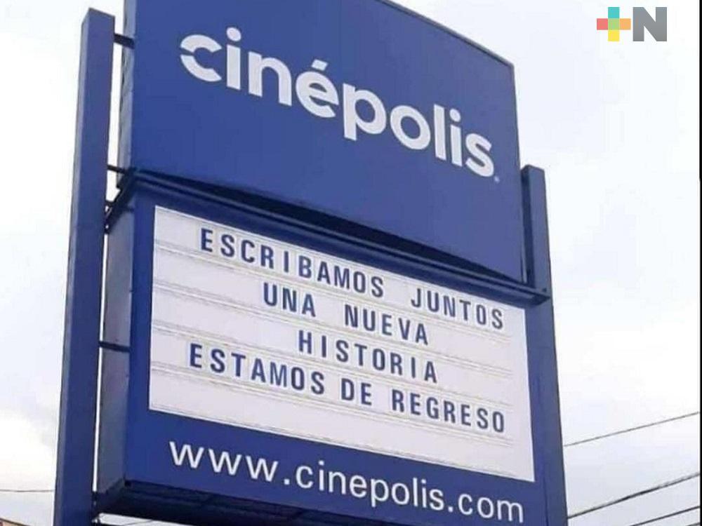 En Coatzacoalcos, Cinépolis Plaza Acaya abrirá nuevamente sus puertas