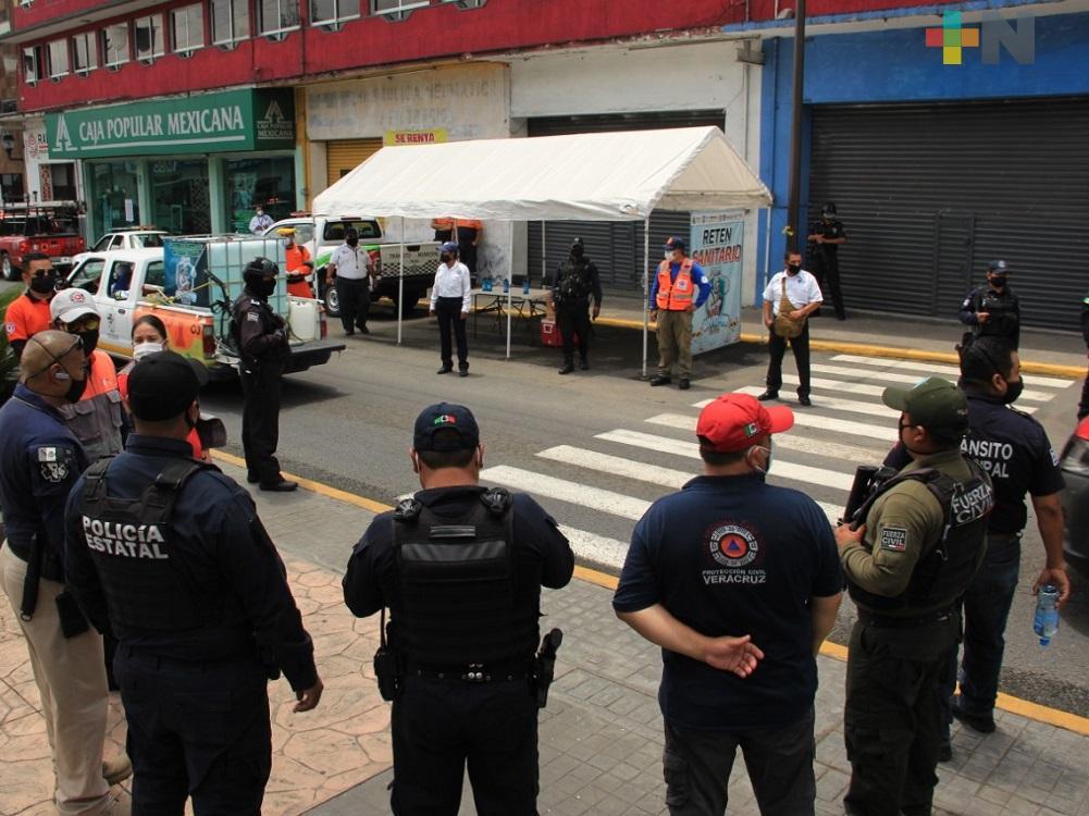 En Ixtaczoquitlán continúan redoblando acciones de limpieza y sanitización