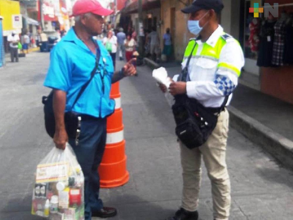 En Veracruz, autoridades estatales y municipales trabajaron coordinadamente para aplicar medidas sanitarias