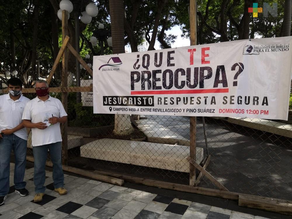 En septiembre iglesias evangélicas de Veracruz esperan retomar los cultos