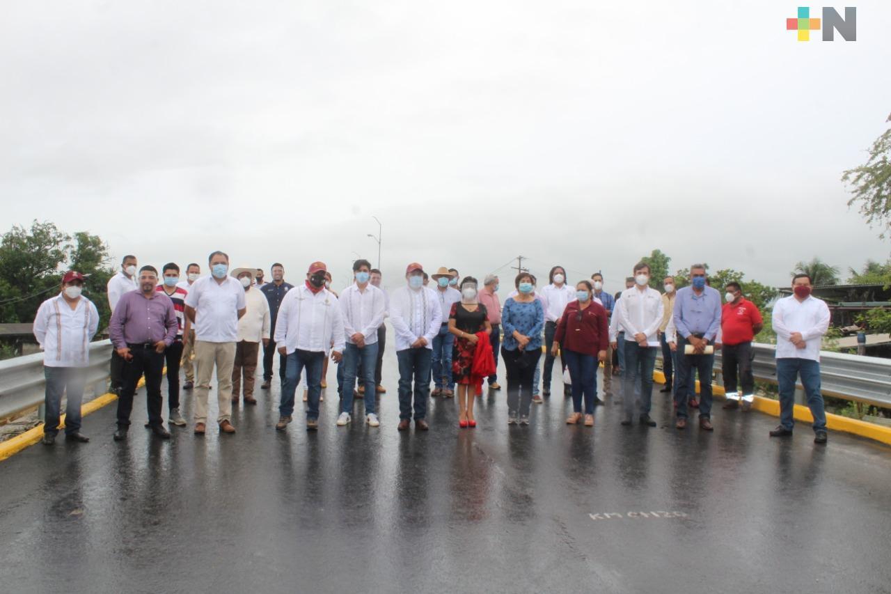 Gobierno del estado y Pemex construirán carretera en la Cuenca del Papaloapan