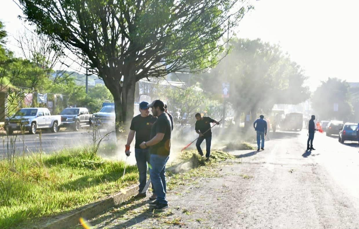 Continuó la Secretaría de Gobierno con labores de embellecimiento de Xalapa