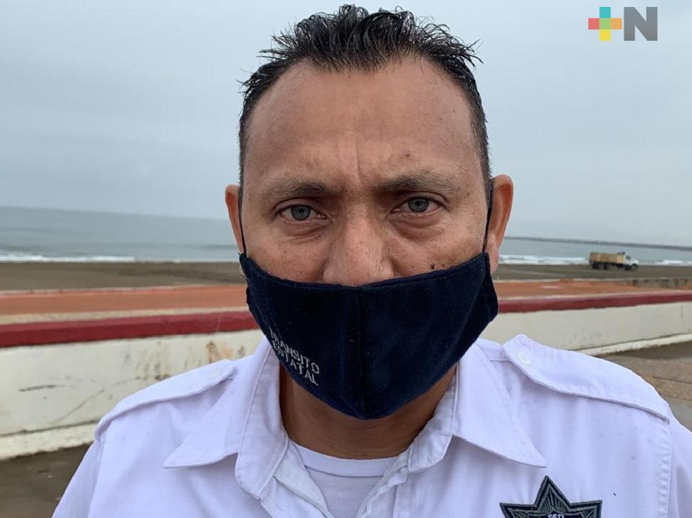 Por conducir en estado de ebriedad, Delegación de Tránsito de Coatzacoalcos envía vehículos al corralón