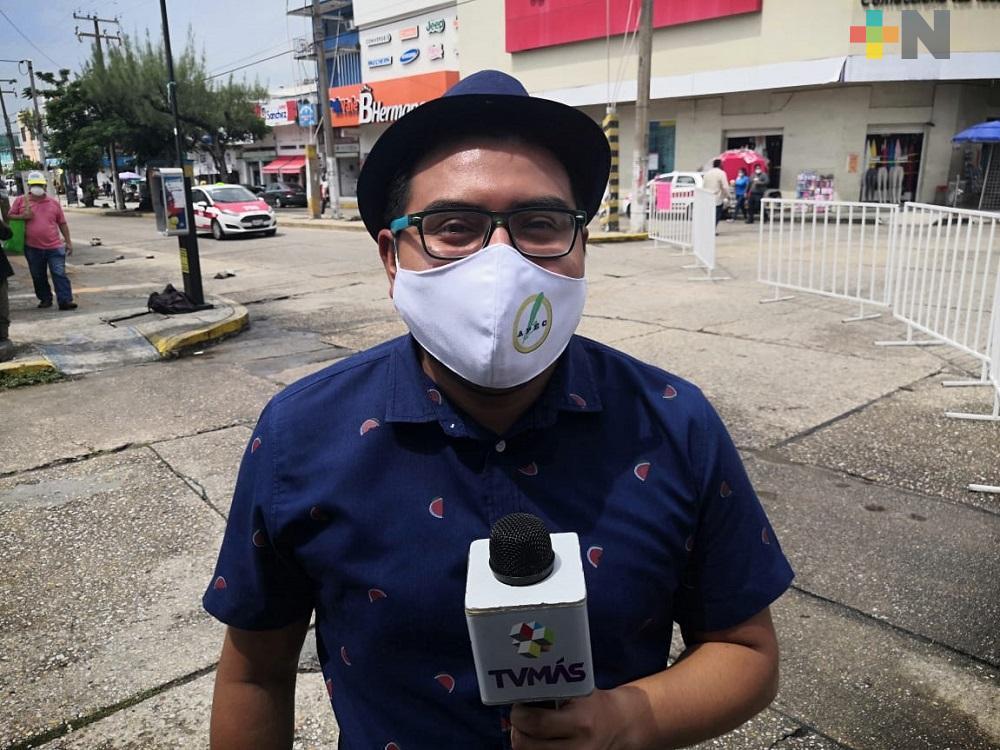 Entregan kits de protección anti-COVID a periodistas de Coatzacoalcos; tres ya dieron positivo