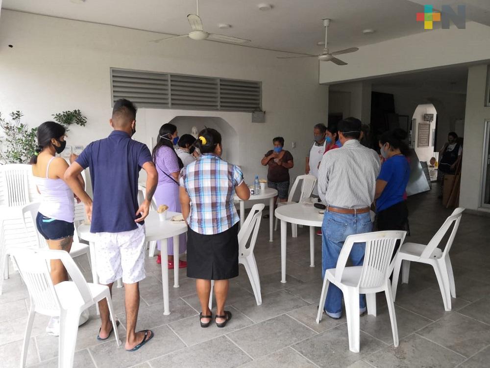 Hogar Santa María de Boca del Río proyecto que nació en medio de emergencia sanitaria