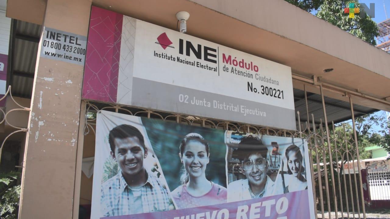 INE reanuda actividades en Tantoyuca