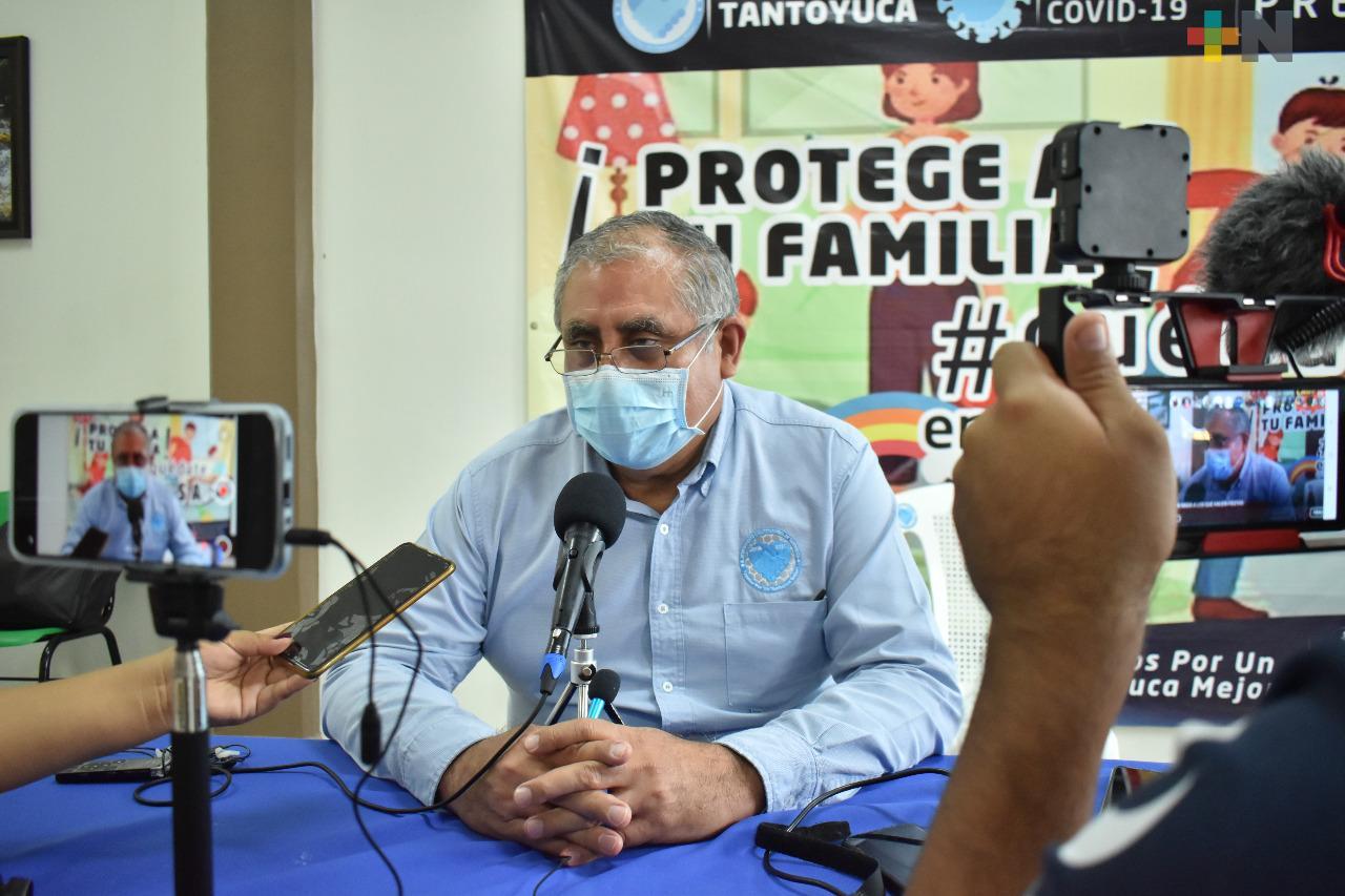 Continúan restricciones sanitarias en Tantoyuca para evitar casos de covid