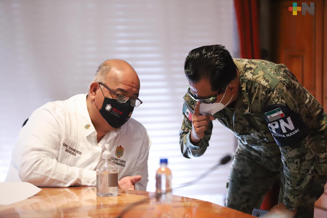 A los grupos criminales que quieran venir a Veracruz, les mostraremos la disposición para hacer valer la ley, afirma secretario de Gobierno