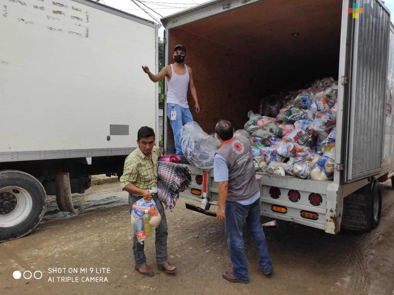 Veracruz recibe Declaratoria de Emergencia para cinco municipios del Totonacapan