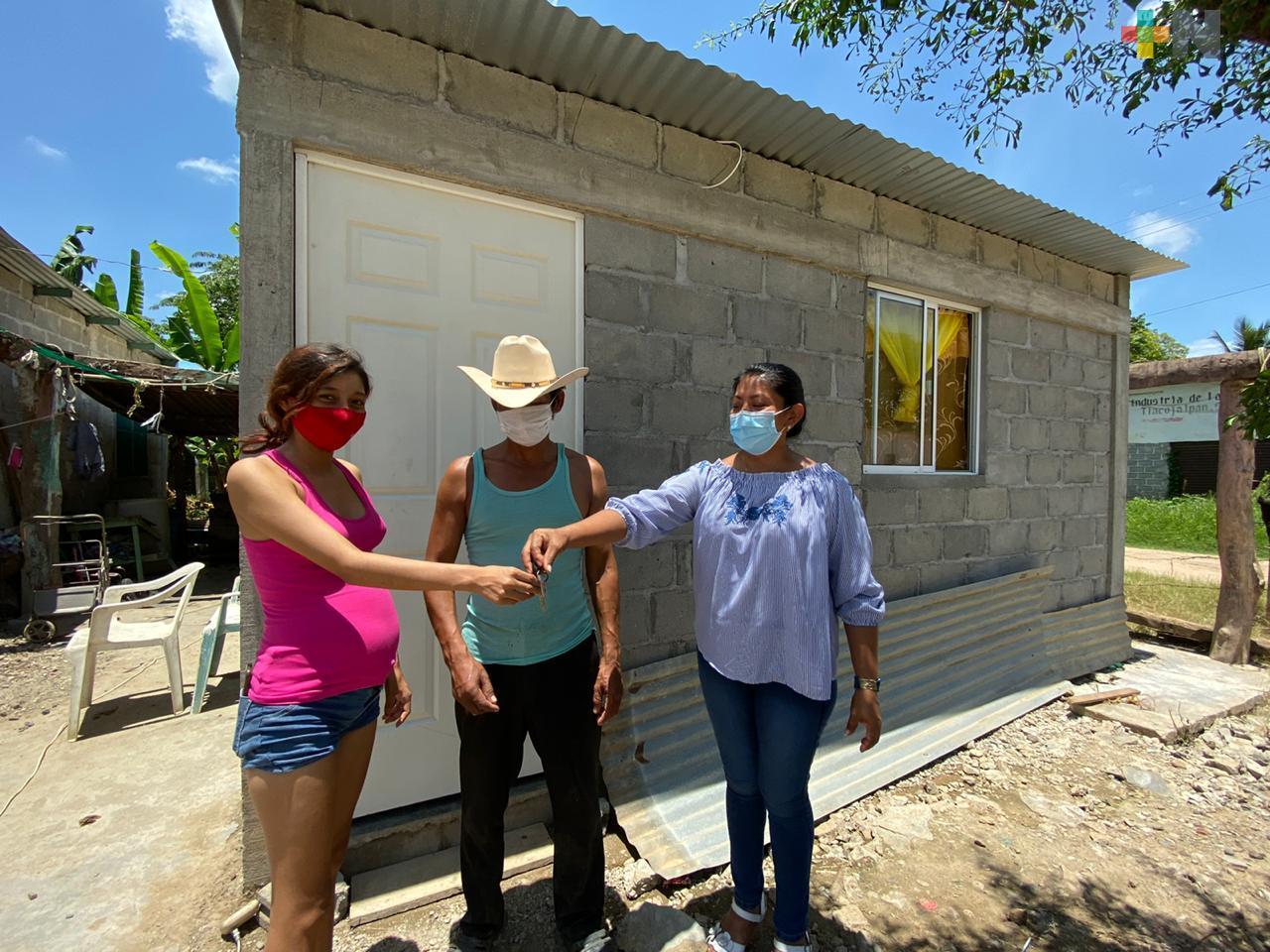 Agradece alcaldesa de Tlacojalpan apoyo estatal
