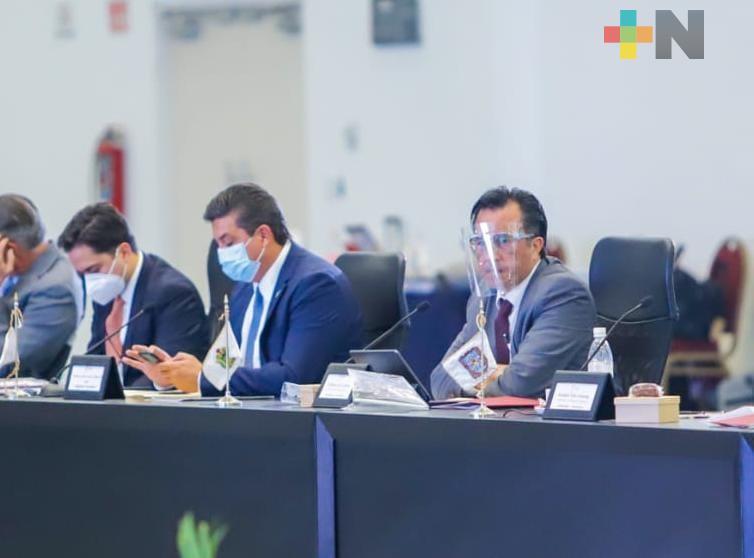 En reunión de CONAGO, defiende Cuitláhuac Pacto Federal «se trata de hacer justicia social, no de porcentajes»