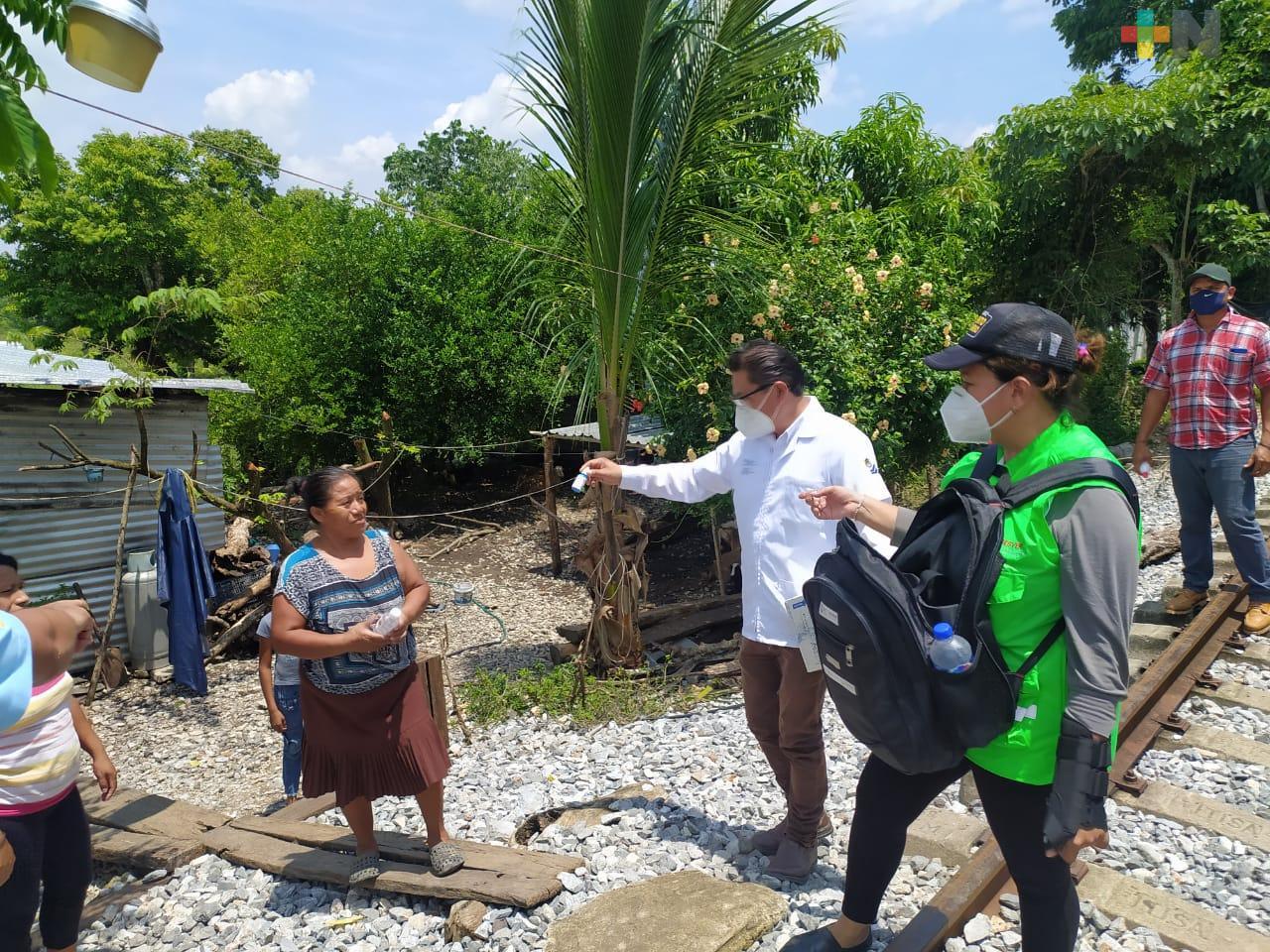 Implementa Salud brigadas de atención COVID-19 en Veracruz, Boca del Río y La Antigua