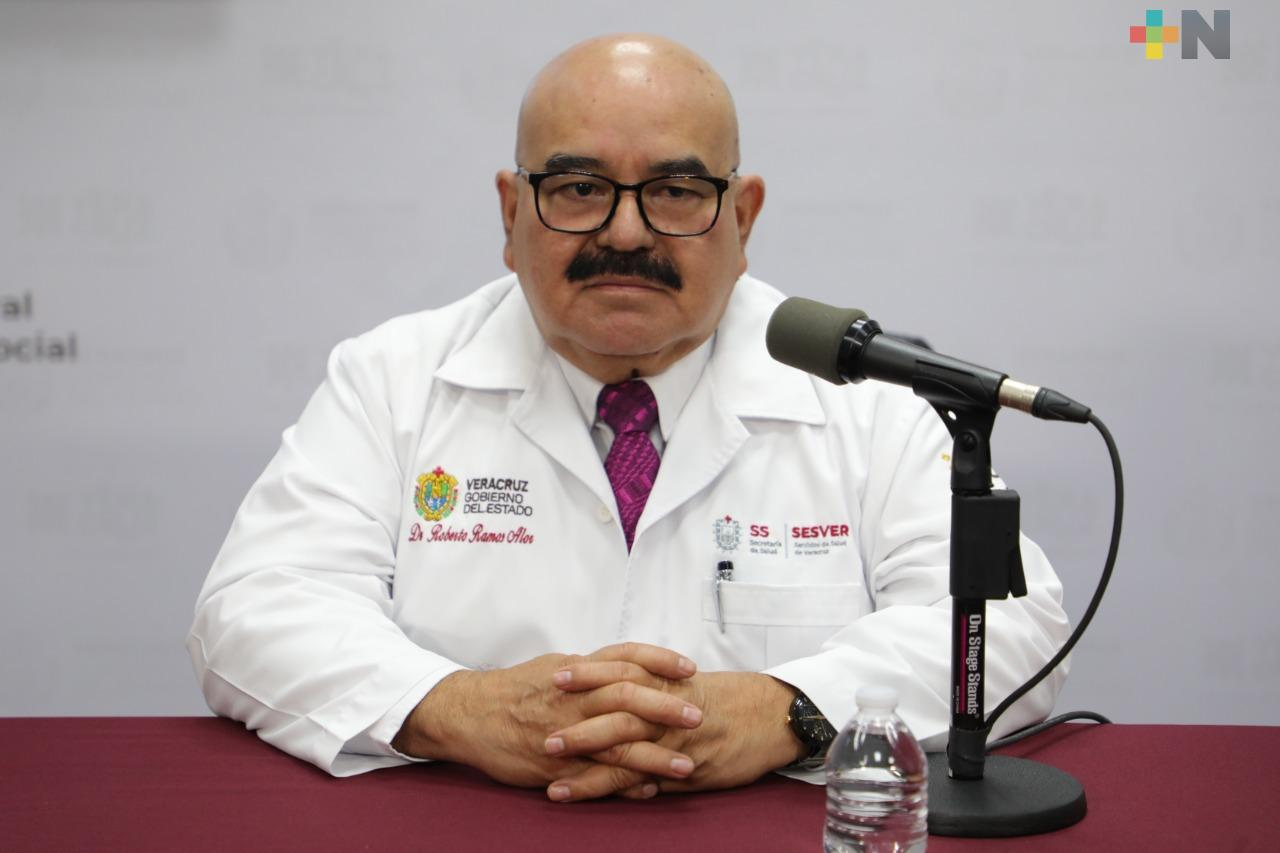 Hay 330 nuevos casos de Covid-19 en Veracruz