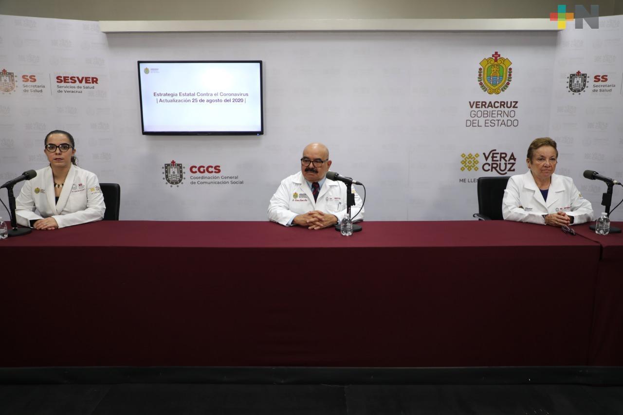 20 mil 437 personas se han recuperado de Covid-19 en alguna unidad del Sector Salud, en el estado