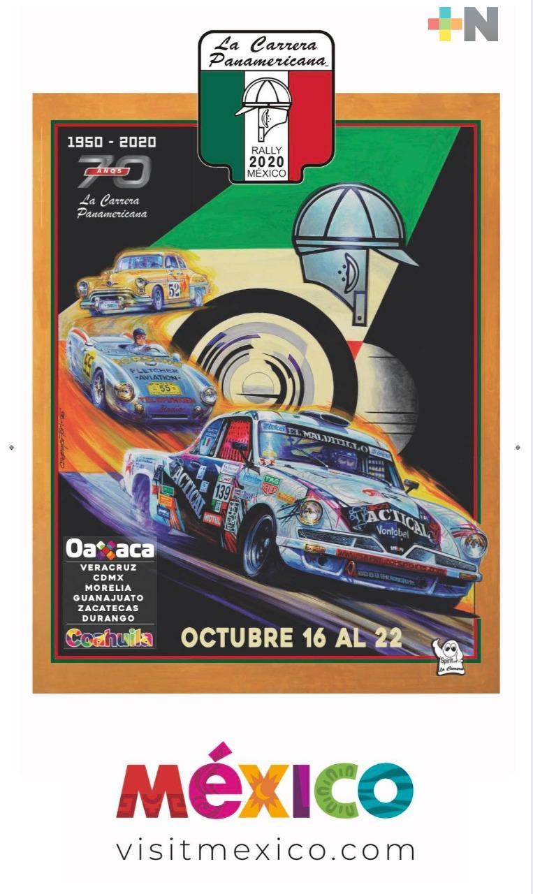 Veracruz, listo para recibir la Carrera Panamericana en su 70 aniversario