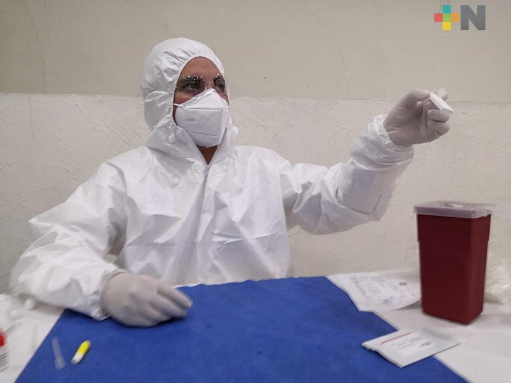 Acumula el Estado de Veracruz 30,870 positivos de COVID-19 y 4,033 fallecimientos
