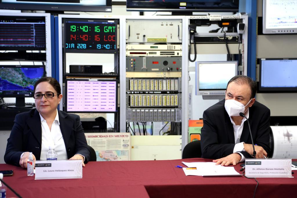 Laura Velázquez Alzúa es nombrada Coordinadora Nacional de Protección Civil