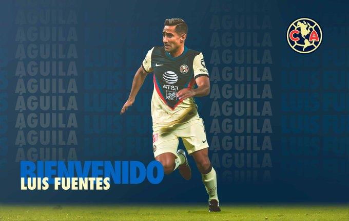 Luis Fuentes regresa al club América