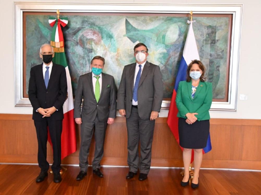 México estrecha la colaboración internacional para hacer frente a COVID-19