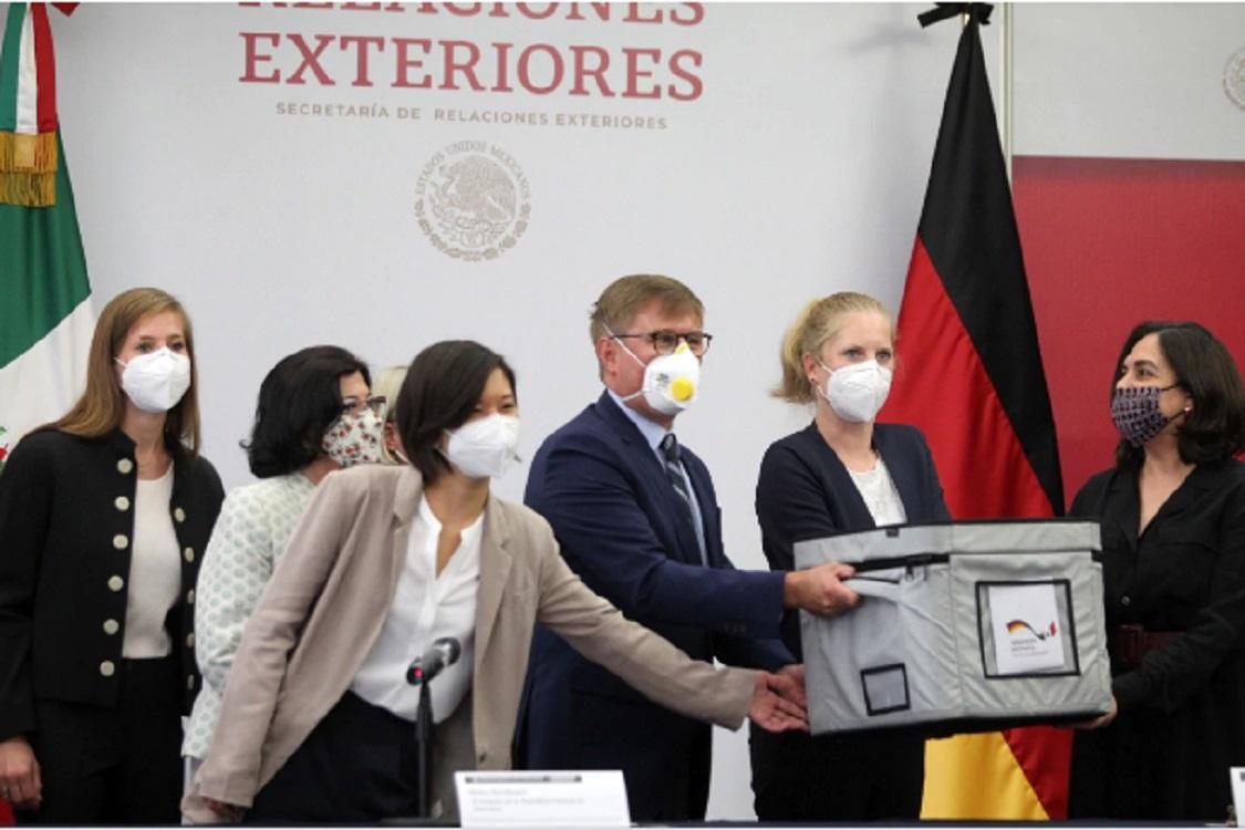 México recibe apoyo del gobierno de Alemania para enfrentar la pandemia de COVID-19