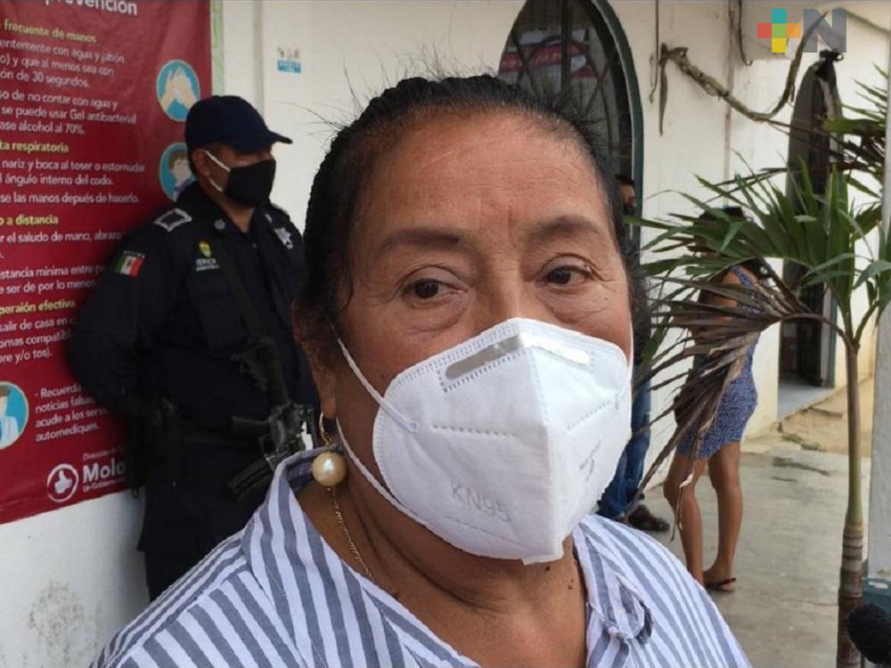 A tres meses de haber asumido el cargo, falleció alcaldesa suplente de Moloacán, por COVID-19