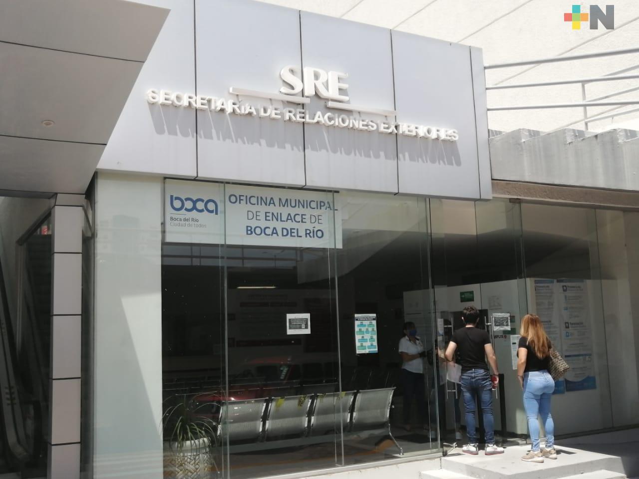 Oficinas de SRE de Boca del Río inicia operaciones