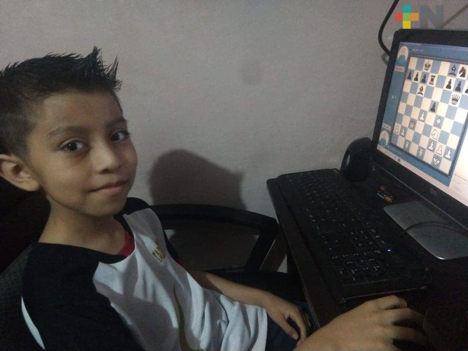 Destacan ajedrecistas en Torneo Nacional Virtual