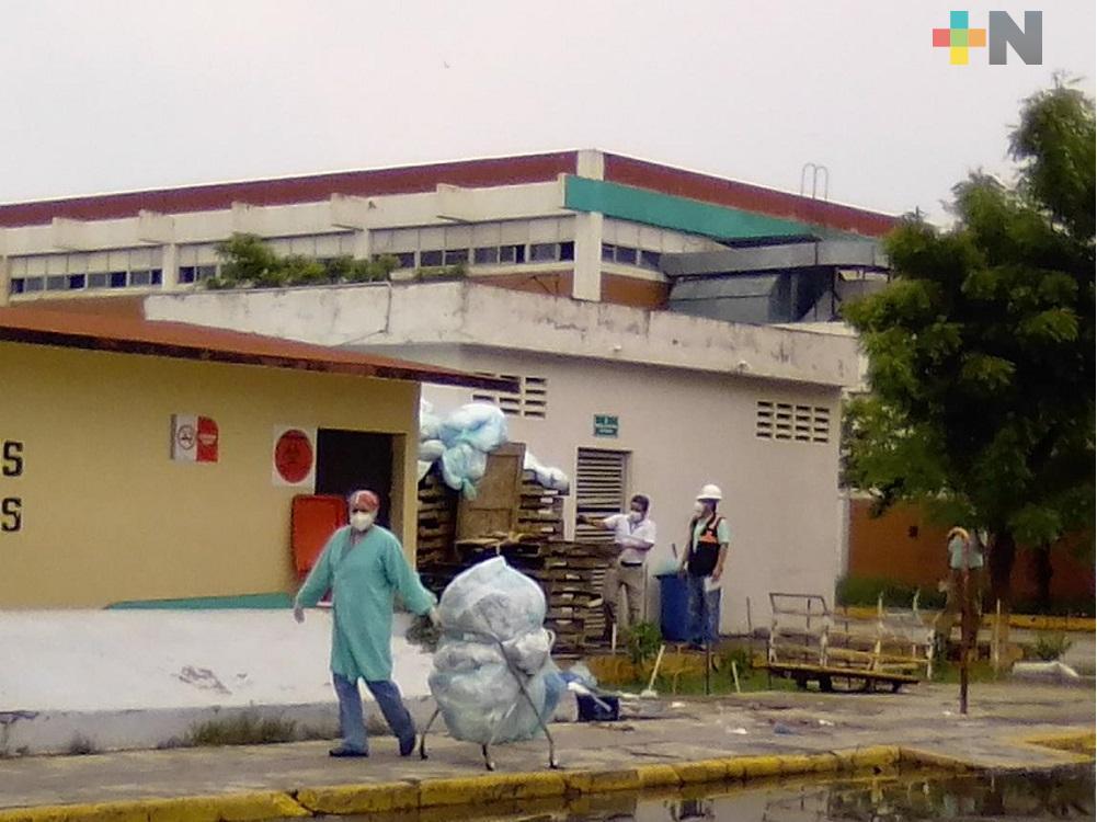 Procuraduría del Medio Ambiente en Veracruz podría realizar inspección en hospital del IMSS por problema de basura