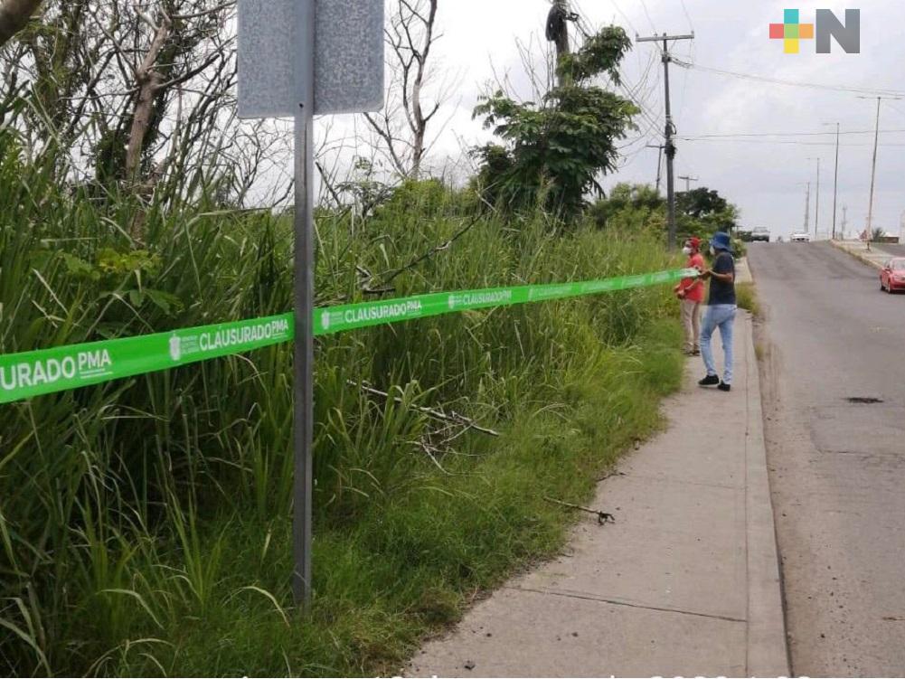 PMA ordena detener construcción de gasolinera