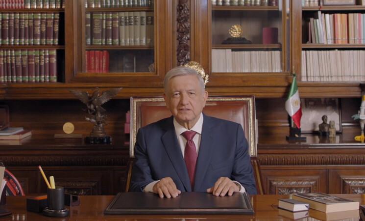 Presidente AMLO destaca respaldo del pueblo de México a la transformación