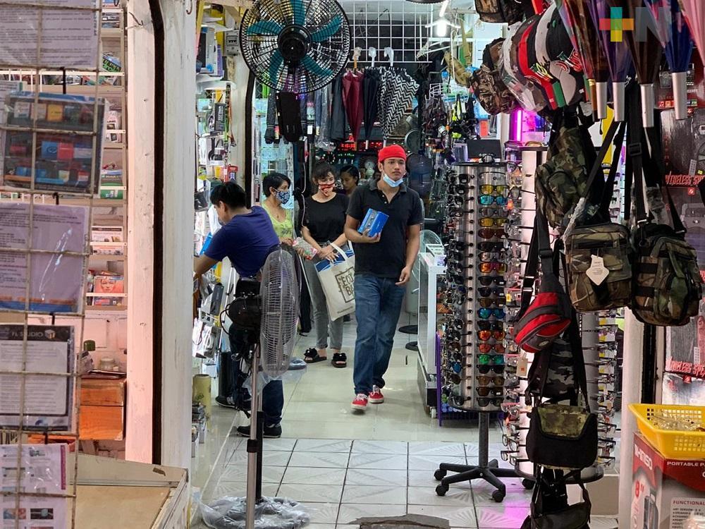 Por pandemia caen hasta un 100% ventas en plazas Corregidora y Chetumalito de Coatzacoalcos