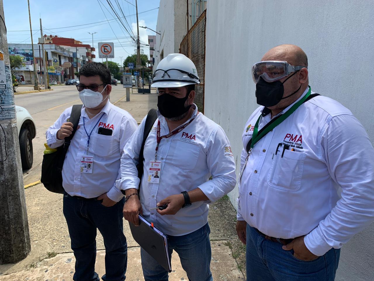 Realizó Procuraduría del Medio Ambiente inspección en el hospital regional de Coatzacoalcos