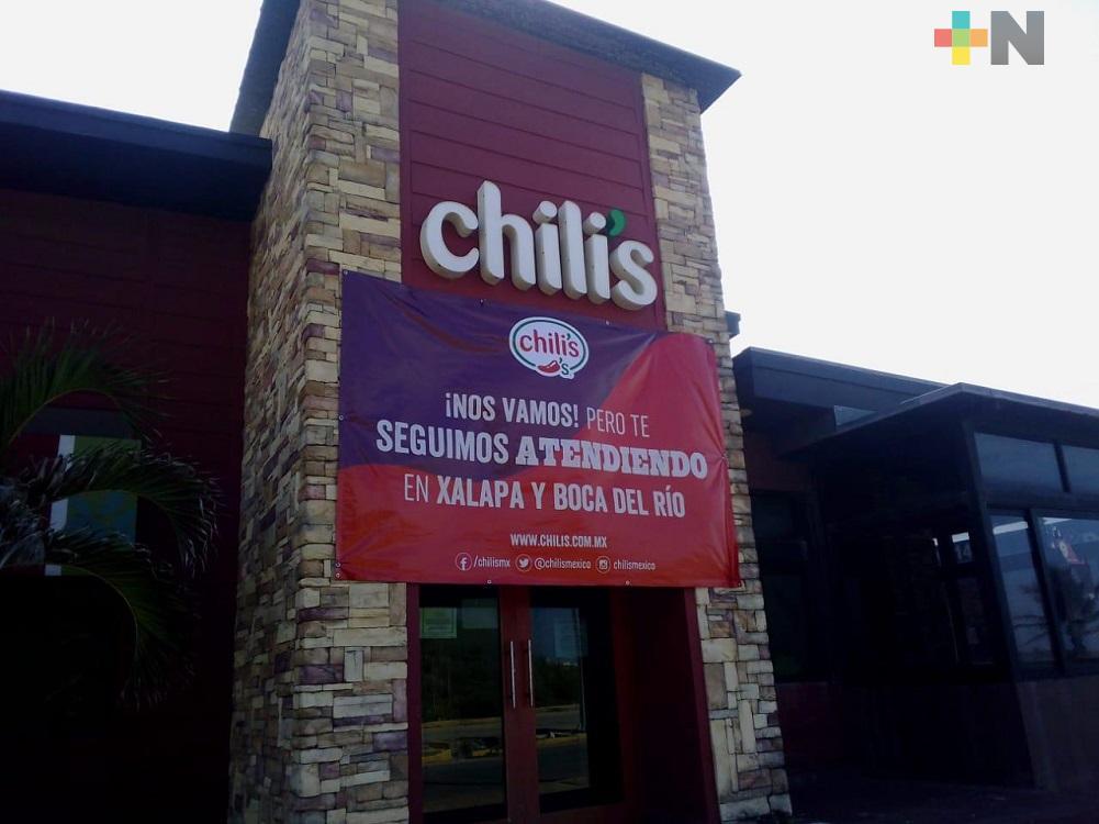 Franquicias de restaurantes y hoteles en Coatzacoalcos, cierran definitivamente