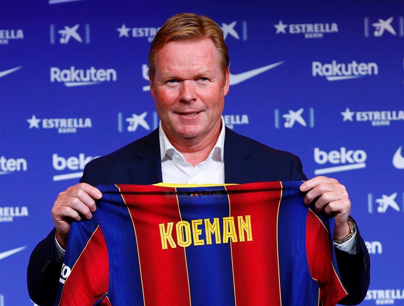Confirmado: Ronald Koeman es el nuevo DT del Barcelona