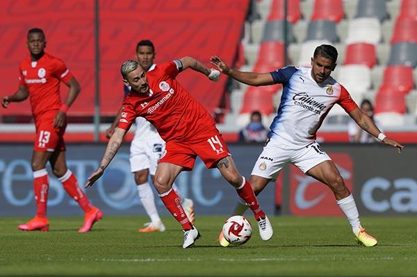 Toluca venció 1-0 a Chivas