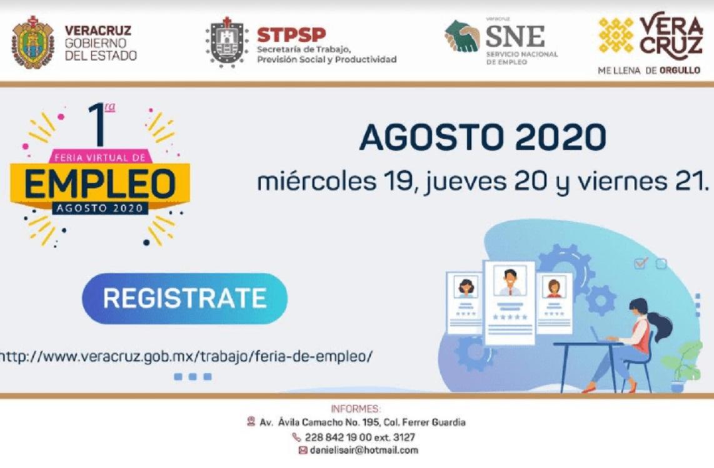 STPSP de Veracruz realiza Primera Feria Virtual del SNE
