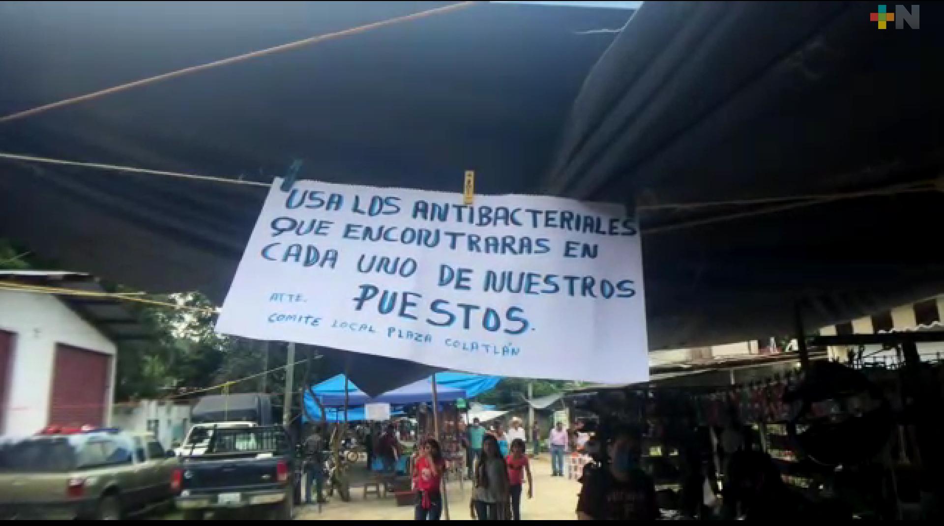 Comerciantes piden apoyo en Ixhuatlán de Madero