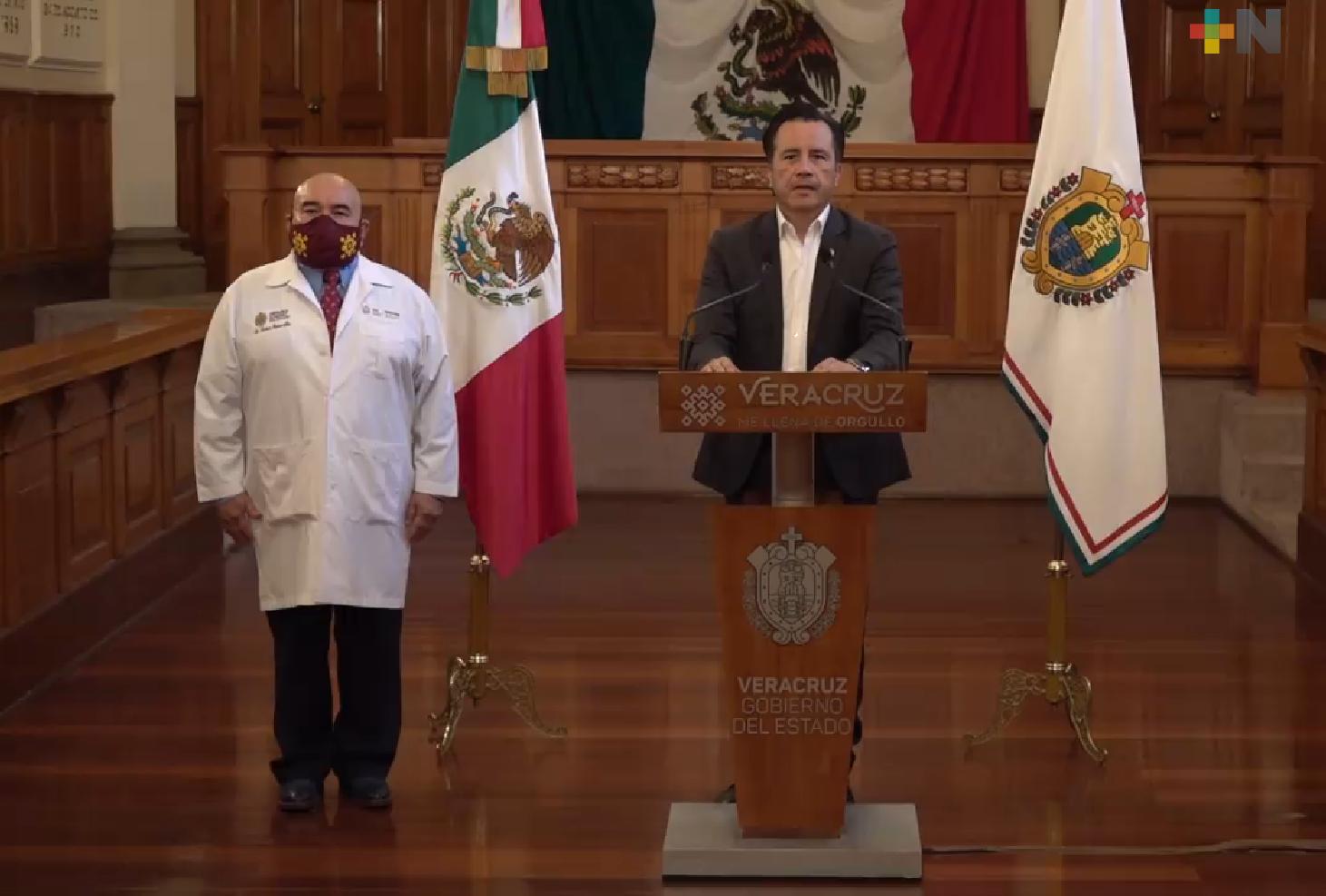 En 15 días Veracruz podría estar en semáforo amarillo, si no se relajan medidas