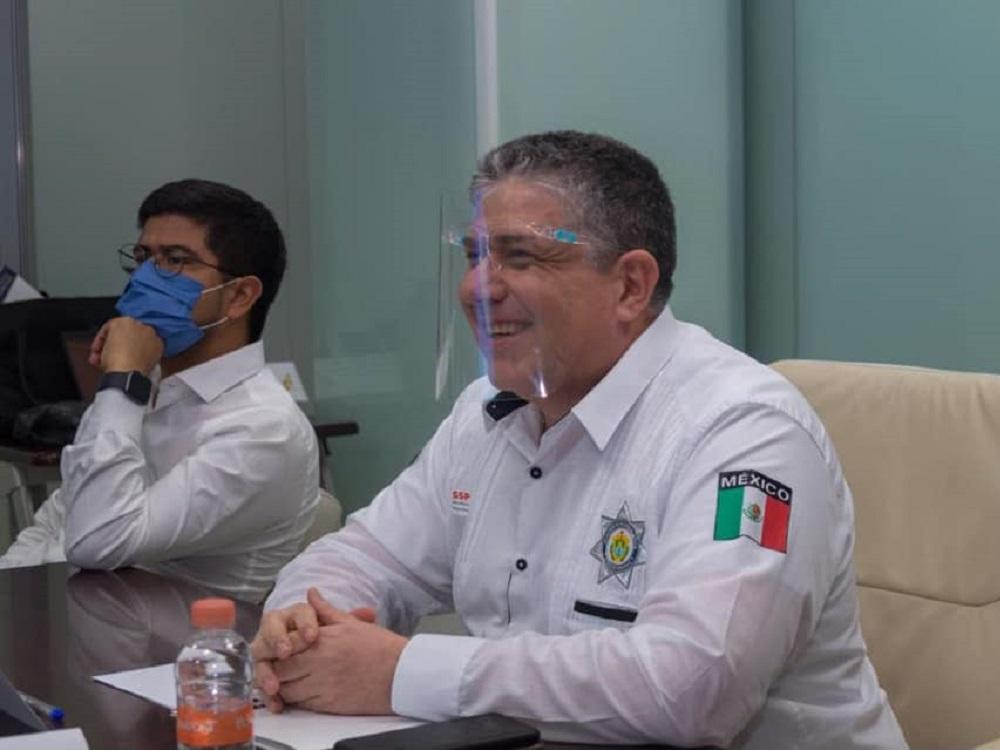 """Secretario de Seguridad Pública, presentó a empresarios el botón """"Alerta Empresarial"""""""
