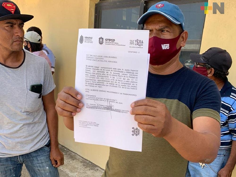 Trabajadores denuncian despido injustificado de la construcción de la universidad de Villa Allende