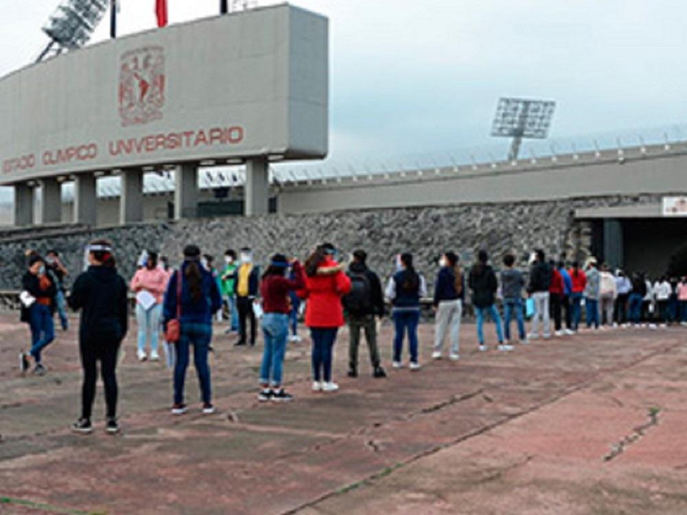 UNAM, primer día de examen de ingreso a licenciatura