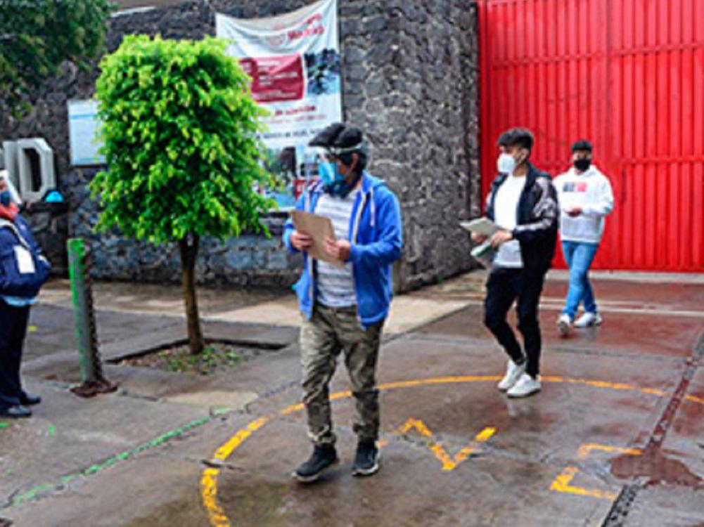 UNAM reporta cero casos sospechosos de COVID-19 en sedes de aplicación de examen para licenciatura