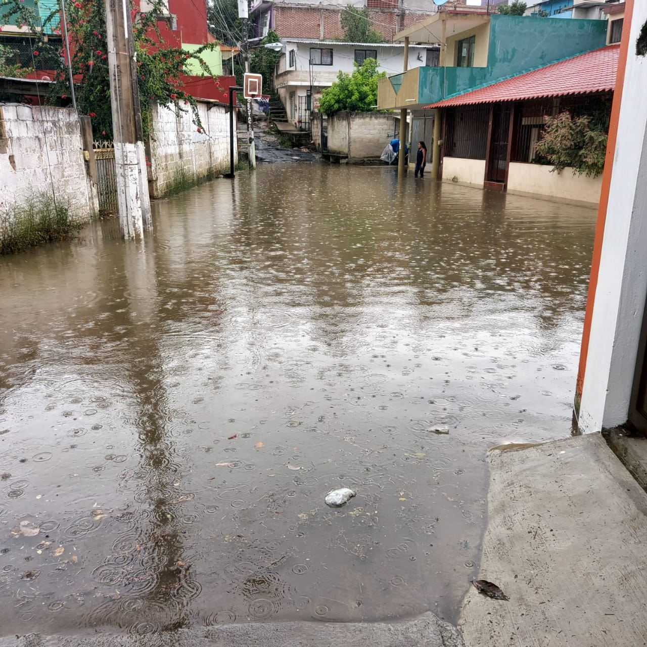 Colonias y avenidas afectadas por la lluvia registrada en Xalapa, Banderilla y Jilotepec